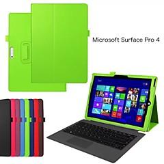 suojaava tabletti tapauksissa nahka tapauksissa kiinnike kotelo Microsoft Surface Pro 4