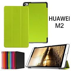 suojaava tabletti tapauksissa nahka tapauksissa kiinnike kotelo Huawei MediaPad m2