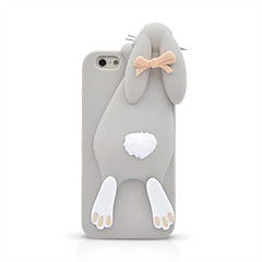 For iPhone 7 Plus 3D Cartoon Bunny Silicone Back Case for iPhone 6s 6 Plus