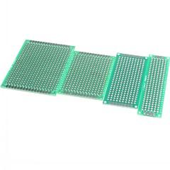 5x7 4x6 3x7 4szt 2x8 cm dwustronnie miedzi prototyp pcb uniwersalna deska dla Arduino