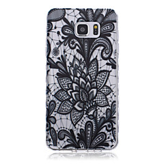New Flower Pattern Waves Slip Handle TPU Soft Phone Case for Galaxy Note 3/ Note 4/ Note 5