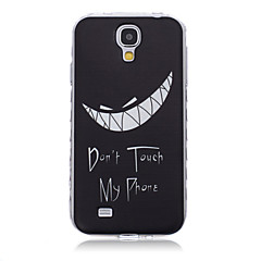 치아 패턴 파도는 갤럭시 S3 / S4 / S5 / S6 / S3 미니 / S4 미니 / 미니 S5 / S6 가장자리 / S6 에지 +에 대한 핸들 TPU 소프트 폰 케이스를 슬립