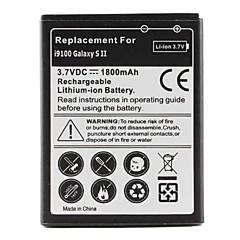 byte mobiltelefon batteri för Samsung Galaxy S2 i9100 (3,7 V, 1800 mAh)