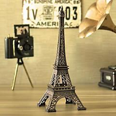 創造18センチメートル高さミニラインストーン鉄金属パリエッフェル塔