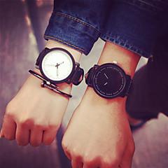 pausa casal criativo legal pulseira de borracha à prova de água quartzo relógio de pulso unisex relogio minimalista mulheres casuais