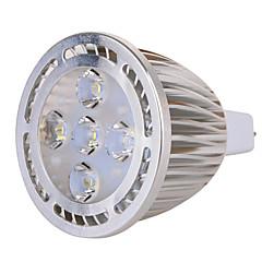 GU5.3(MR16) 7W 5x3030SMD 630 LM Warm White / Cool White MR16 Decorative Spot Lights AC 85-265 / AC 12 V