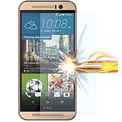 härdat glas skärmskydd film för HTC One m9