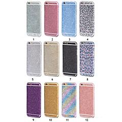 kuohuviini tekojalokivi makea bling timantti tarra iPhone 6 / 6s (eri värejä)