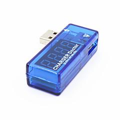 usb-AV USB Power proud Zkoušečka napětí - průsvitná modrá + stříbrná