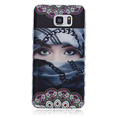 New Eyes Pattern Waves Slip Handle TPU Soft Phone Case for Galaxy Note 3/ Note 4/ Note 5