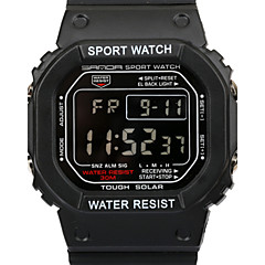 SANDA 50 m Waterproof, Japan Movement, Men's Sports Watch Rectangular Dial Wrist Watch Cool Watch Unique Watch Fashion Watch
