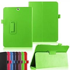 suojaava tabletti tapauksissa nahka tapauksissa kiinnike kotelo Samsung Galaxy Tab 4 / Galaxy Tab s2 (eri / malleja / eri)