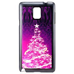 Για Samsung Galaxy Note Με σχέδια tok Πίσω Κάλυμμα tok Χριστούγεννα PC Samsung Note 4