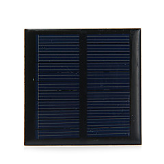 0.6W 5.5V Output Polycrystalline Silicon Solar Panel for DIY