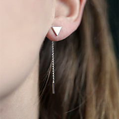 Alloy Earring Drop Earrings Daily / Casual 1set