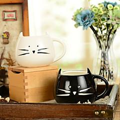 """300ml Κεραμικά Καινοτόμες Pattern Cat Κύπελλο, 5.1 """"x4.3"""" x3.7 """""""