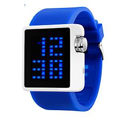 아가씨들 패션 시계 디지털 LED / 달력 / 방수 PU 밴드 블랙 / 화이트 / 블루 / 레드 상표-