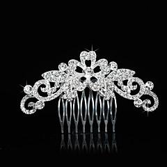 Vintage Charming Design Wedding Bride  Starfish Headband Cown Crystal Silver Hair Accessior