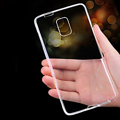 For Samsung Galaxy Note Ultratyndt Transparent Etui Bagcover Etui Helfarve TPU for Samsung Note 5 Note 4 Note 3