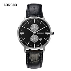 LONGBO® Couples Calendar Quartz Watch Fashion Brands Waterproof  Watch Dial Decoration Free Shipping Cool Watches Unique Watches