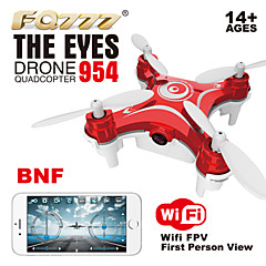 New Arrival FQ777 954 Nano RC Quadcopter Nano WIFI Camera Drone FPV 6AXIS GYRO With HD Camera FPV BNF