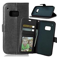 ylellisyyttä pu nahka kortin haltija lompakko seistä läppä kansi valokuvakehys HTC yksi M8 / M9 (eri värejä)