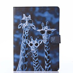 Crazy Deers Pattern PU Leather Full Body Case with Stand for iPad Air/iPad 5