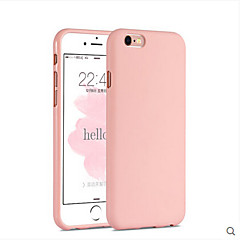Pink Girl Solid Colour Elegant Simple Soft  Case for iPhone 6/6S Plus