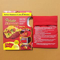 Rectangle Textile Potato Express For Baked Food