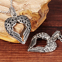 Wings of Love Cool Men's Stainless Steel Necklace