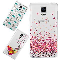 Για Samsung Galaxy Note Με σχέδια tok Πίσω Κάλυμμα tok Κινούμενα σχέδια TPU Samsung Note 4
