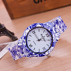 Woman And Men Fashion Rose Wrist  Watch Cool Watches Unique Watches