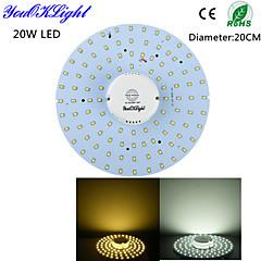 20W Kattovalaisimet 100 SMD 2835 1800 lm Lämmin valkoinen / Kylmä valkoinen Sensori / Koristeltu AC 220-240 / AC 110-130 V 1 kpl