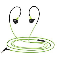 Kanen s30 sport in-ear hoofdtelefoon met microfoon