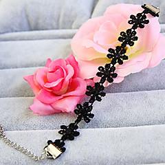Vintage Gothic Style Blace Flower Lace Bracelet