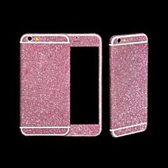 pleine longueur autocollant corps bling de paillettes pour iphone 6 (couleurs assorties)