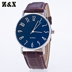 Men's Fashion Personality Leather Quartz Analog Sport Watch(Assorted Colors) Wrist Watch Cool Watch Unique Watch