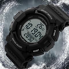Da uomo Orologio da polso Digitale LCD / Calendario / Cronografo / Resistente all'acqua / allarme / Energia solare / Orologio sportivo