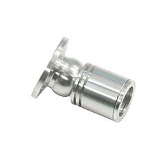 1W 100LM 2800-3000K/6000-6500K Warm White/Cool White Light LED Cabinet Lamp-Silver(AC 85-240V)