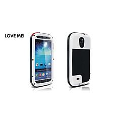 amore mei custodia impermeabile di alluminio resistente agli urti gorilla metallo per i9500 Samsung Galaxy S4 (colori assortiti)