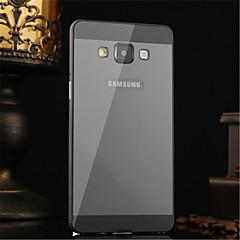 Metalowa rama lustra akrylowe backplane metalu twarde etui do Samsung Galaxy a5