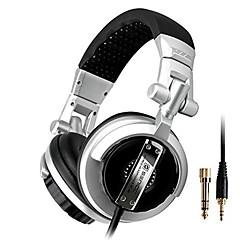 ST-80 Professional Monitor Music Headset Hifi Subwoofer Enhanced Super Bass Noise-Lsolating DJ Headphone