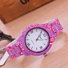 Woman And Men Red Rose Wrist  Watch