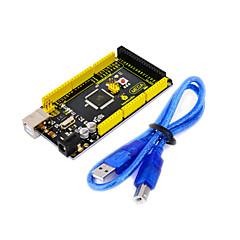 keyestudio 2560 panel de control r3, con la línea del usb