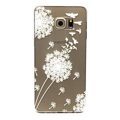 For Samsung Galaxy etui Transparent Etui Bagcover Etui Mælkebøtte TPU for Samsung S6 edge plus S6 edge S6 S5 Mini S5