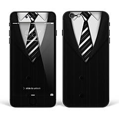 """iPhone 6 Plus / 6s ainsi sticker art corporel de la peau: """"noir et blanc costume cravate"""" (série créative)"""