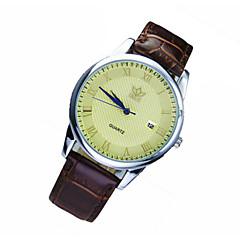 Mann-Quarz-wasserdichte Band durch Freizeit Geschenk Uhren Uhren