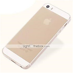 Transparent Ultrathin Back Case for iPhone 5/5S