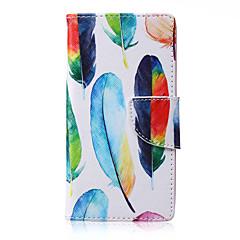 Για Samsung Galaxy Θήκη Θήκη καρτών / με βάση στήριξης / Ανοιγόμενη / Με σχέδια / Μαγνητική tok Πλήρης κάλυψη tok Φτερό Συνθετικό δέρμα