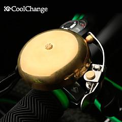 Andet - Rekreativ Cykling / Cykling / Mountain Bike / Vejcykel / MTB / Fixed Gear Bike - Bike Horns ( Lysegul , kobber bell*1